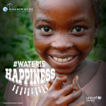 UNICEF Wateris happiness
