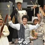 つながる音楽劇 麦ふみクーツェ  舞台写真  撮影:阿部章仁