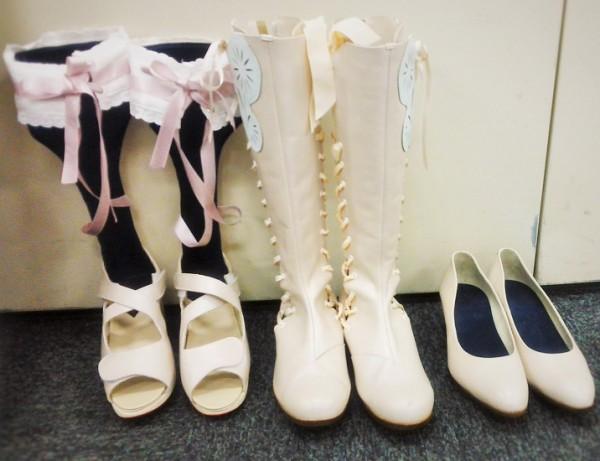 ウエディングパンプスとブーツもオリジナルで開発 履きやすくておしゃれです