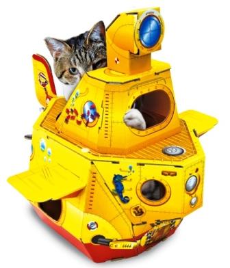意匠屋(大阪) 出展:猫用段ボールのおもちゃなど