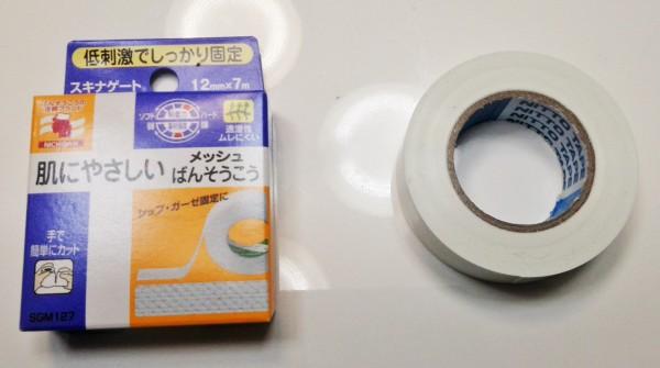 絆創膏とビニールテープ