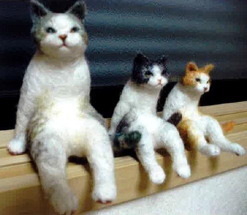 マルハウス(京都) 出展:フェルトの猫さん