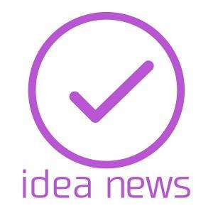 アイデアニュースの正方形のロゴ