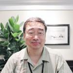 創価大学の佐野潤一郎さん=2015年8月12日、撮影・橋本正人