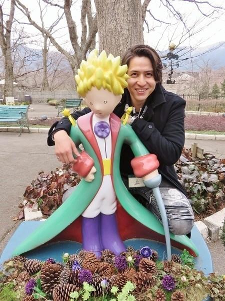 「星の王子さまミュージアム」にて=写真提供・KANATA LTD.