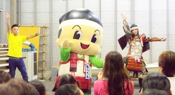 ダンス「Hey!Say!Yoichiくん!」を踊っているところ=撮影・狸さん