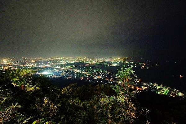 夜景がとても綺麗でした=写真提供・Lapisさん