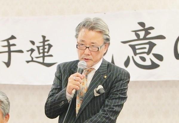 「勝手連 民意の声」代表の浅野秀弥さん=撮影・橋本正人