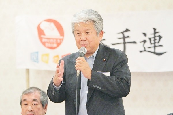 大阪市議会議員の多賀谷俊史さん=撮影・橋本正人