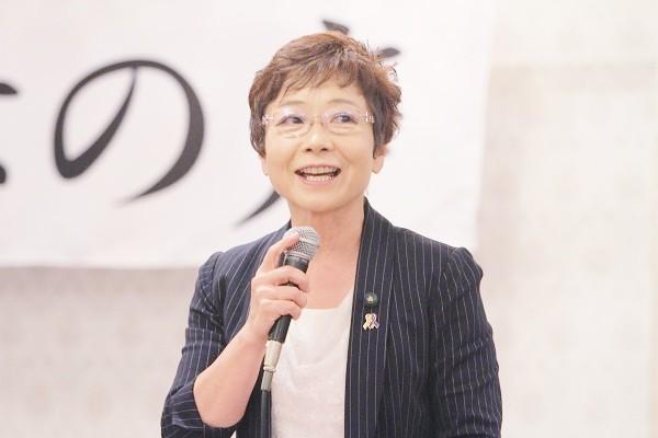 大阪市議会議員の山中智子さん=撮影・橋本正人