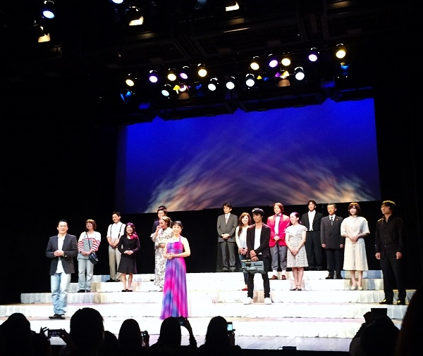 舞台「東京の王様」名古屋公演より=撮影・堀内優美