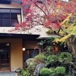 2015年11月28日に一時閉館する「マルキ旅館」=2015年11月13日、撮影・橋本正人