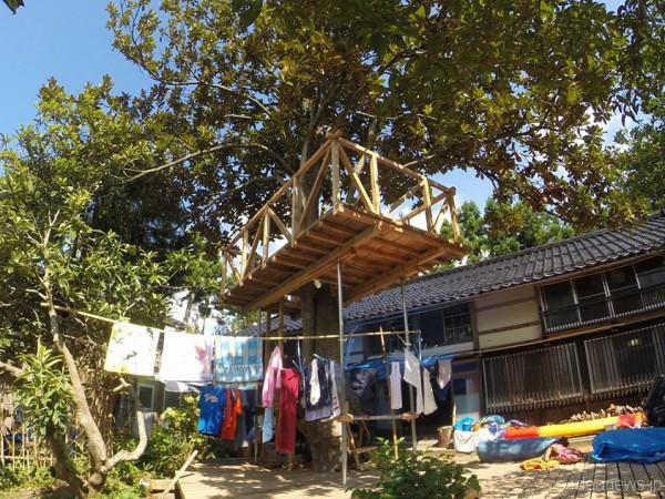 2015年8月へっついの家での夏キャンプ 「福島とむすぶ佐渡へっついの家」Facebookより