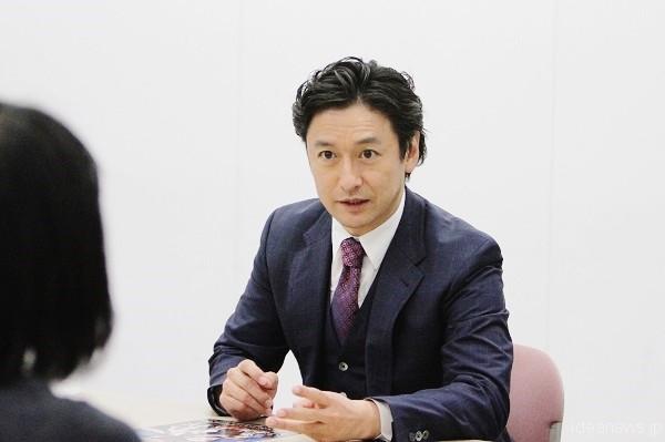 石丸幹二さん=撮影・橋本正人