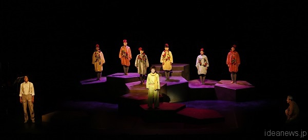 音楽劇「星の王子さま」兵庫公演より=撮影:岸隆子