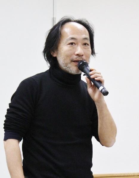 「市民エネルギーちば合同会社」代表社員の東光弘さん=撮影・橋本正人