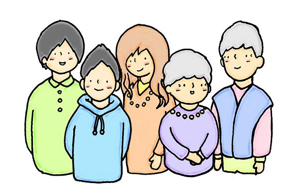「明日に笑顔を」イラスト=イラスト素材:パンコス(http://www.pancos-sozai.com/)