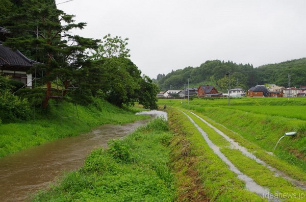 藤田さんが4年間過ごした福島県平田村の風景2014年=撮影・藤田操さん
