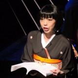 八百比丘尼役・田中良子さん=撮影:堀江男二