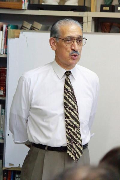 カレーズの会の理事長レシャード先生