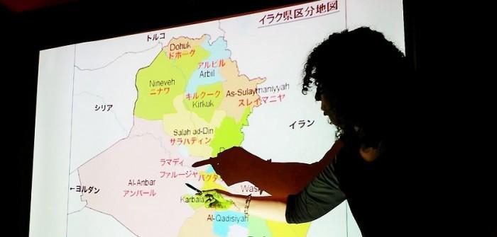 2016年5月5日「高遠菜穂子さんトーク~命に国境はない」=撮影・松中みどり