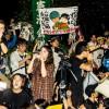 「わたしの自由について~SEALDs 2015~」より=© 2016 sky-key factory, Takashi NISHIHARA