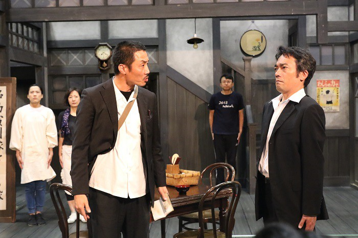 「紙屋町さくらホテル」稽古より=撮影・田中亜紀