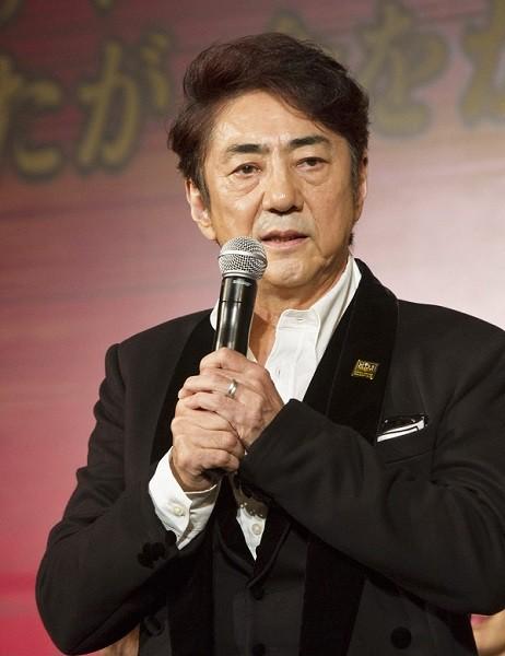 エンジニア役の市村正親さん=ミュージカル『ミス・サイゴン』製作発表より、撮影・岩村美佳