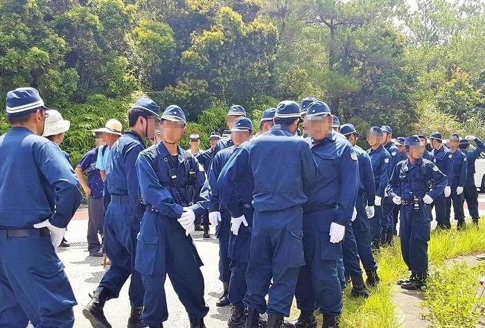 沖縄・高江の様子=写真提供・川口真由美さん