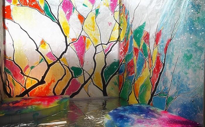 葛西茉耶さんの「ねぷたアート」作品