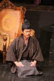 「羅馬から来た、サムライ」より 長介役・大和琢也さん=撮影・堀江男二