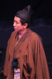 「羅馬から来た、サムライ」より 間部詮房役・岡田治朗さん=撮影・堀江男二