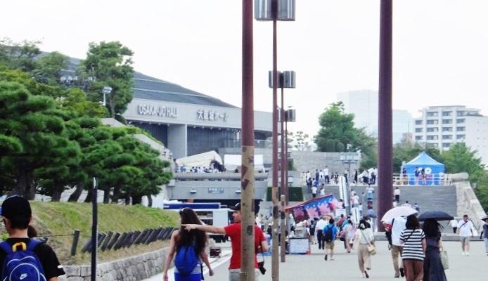 「ドラゴンクエスト ライブスペクタクルツアー」大阪公演会場前で=撮影・きたあつこ