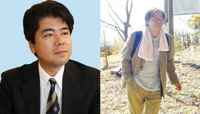 「2016 BOOK TALK in 関西」の語り手、豊田政志さん(左)と大井達夫さん=写真提供・出版労連大阪地協