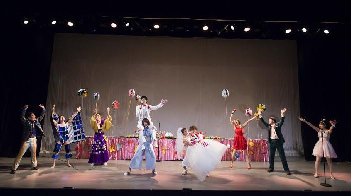 「虚構の劇団『天使は瞳を閉じて』」公演より=写真提供・サードステージ