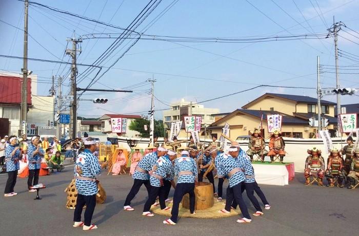 与一まつり(三献の儀)2016年8月撮影 大田原市地域おこし協力隊1号=写真提供・阿久津さん