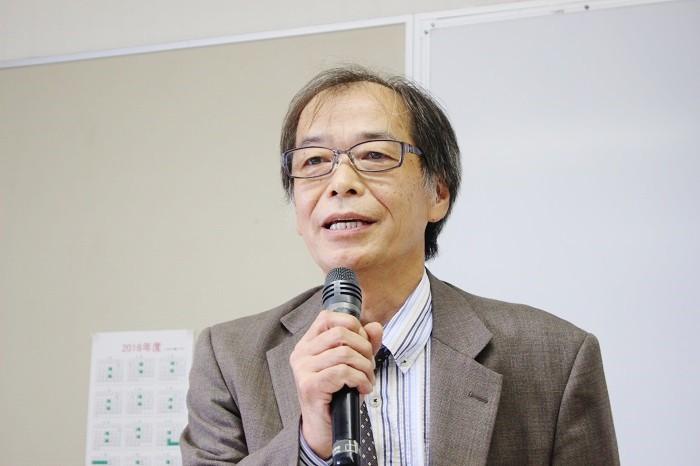 「2016 BOOK TALK in 関西」で語る大井達夫さん=撮影:アイデアニュース・橋本正人