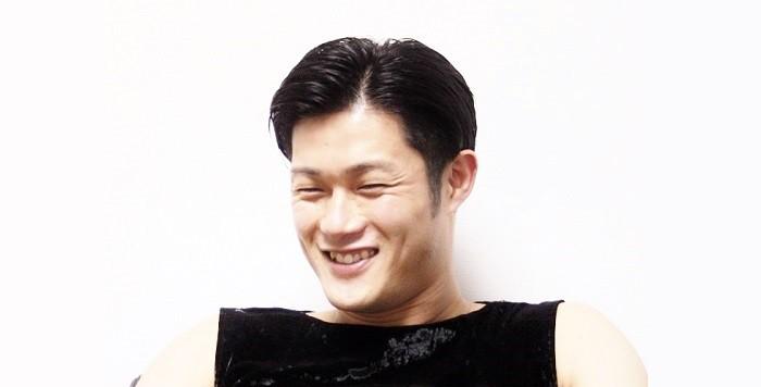 鼓童の坂本雅幸さん=撮影・桝郷春美