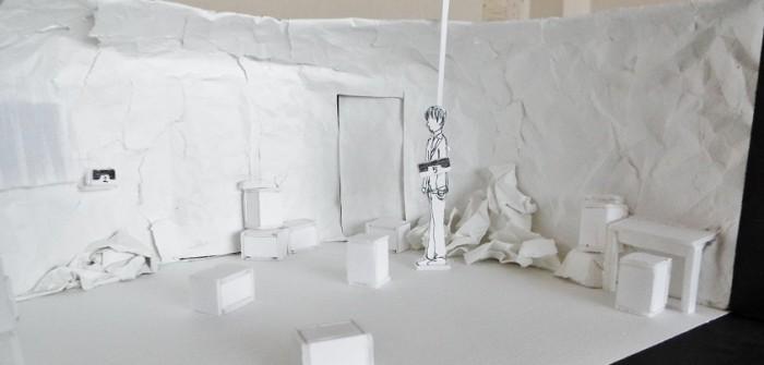 EPOCH MAN:番外特別公演「夜明け」の舞台美術=撮影・達花和月