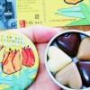 日本イラク医療支援ネットワークがおこなっている「チョコ募金」のチョコレート=撮影・松中みどり