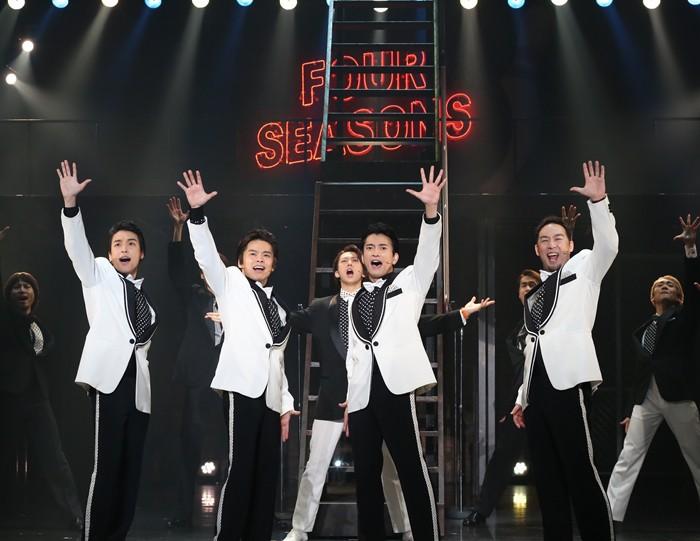 ミュージカル『ジャージー・ボーイズ』公演より=写真提供:東宝演劇部