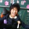 卒業式直前のレノアちゃん=撮影・松中みどり
