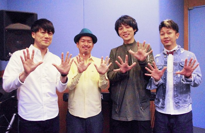 左から、Ryoheiさん、Luzさん、JONTEさん、Dodyさん=撮影・堀内優美