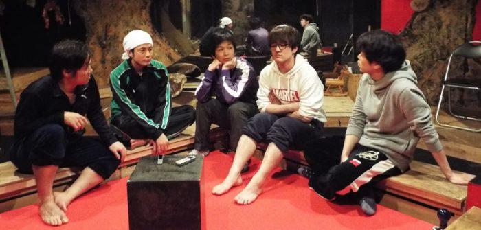 (左から)渡辺さん、坂本さん、高橋さん、杉浦さん、三上さん=撮影・達花和月