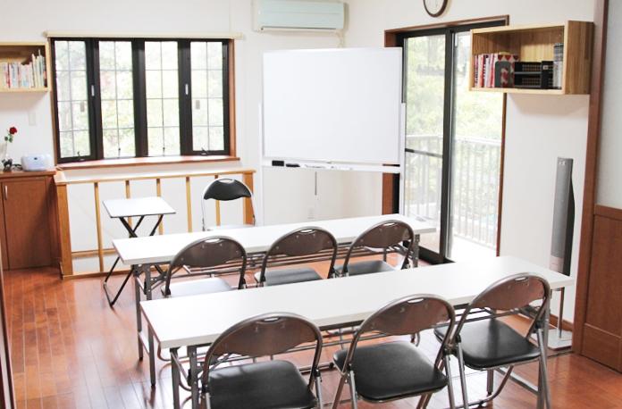 アイデアニュース・カルチャーセンター宝塚教室の室内