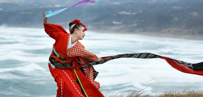 「佐渡の清姫物語り」写真展に出展される写真より=撮影・宮川舞子さん