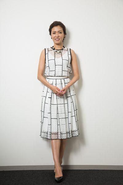 安蘭けいさん=撮影・岩村美佳