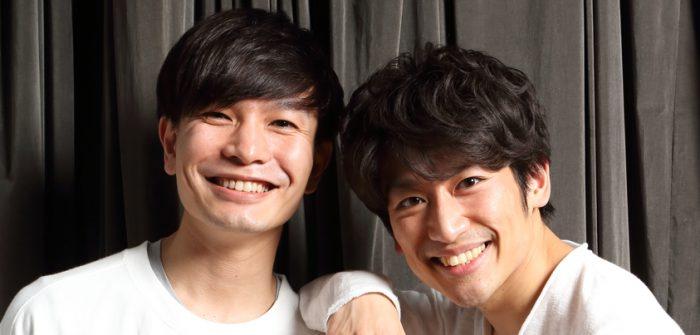 小沢道成さん(左)と一色洋平さん=撮影・伊藤華織
