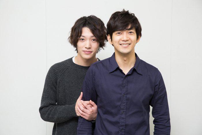 安西慎太郎さん(左)と辻?本祐樹さん=撮影・岩村美佳