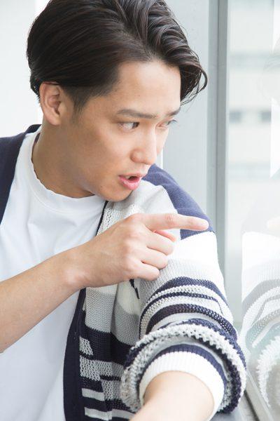 味方良介さん=撮影・岩村美佳